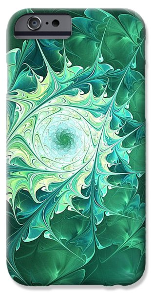Friendly iPhone Cases -  Green Magic iPhone Case by Anastasiya Malakhova