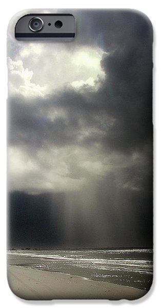 Hurricane Glimpse iPhone Case by KAREN WILES