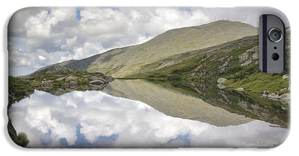 Clouds iPhone Cases -  Lakes of the Clouds - Mount Washington New Hampshire iPhone Case by Erin Paul Donovan