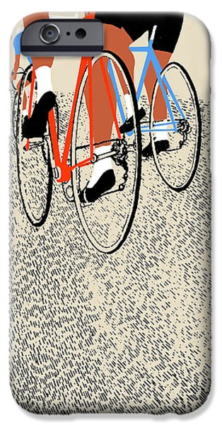 Close Up Drawings iPhone Cases -  Legs iPhone Case by Eliza Southwood