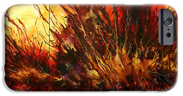 Combustion iPhone Cases -  Limitless  iPhone Case by Michael Lang