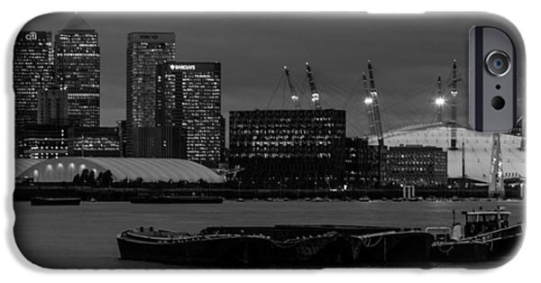 River View iPhone Cases -  London Docklands iPhone Case by Dawn OConnor