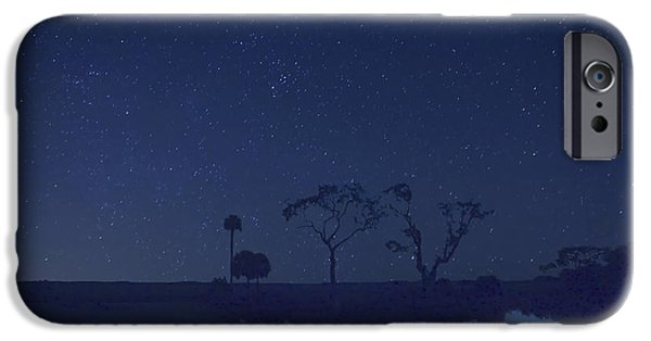 Amazing Digital Art iPhone Cases -  Meteor Shower in the Lowcountry iPhone Case by Phill  Doherty