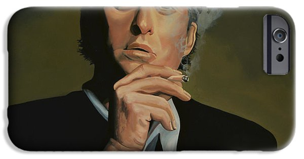 Paul Meijering iPhone Cases -  Michael Douglas iPhone Case by Paul  Meijering