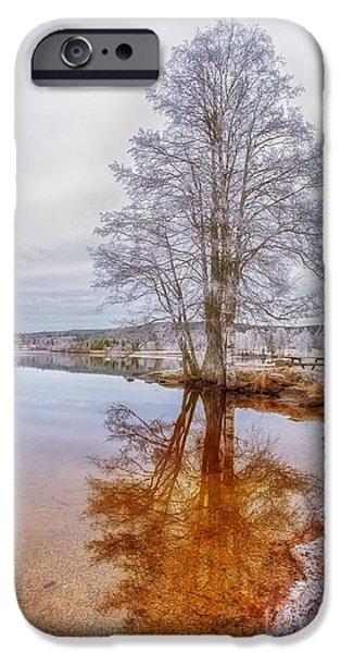 Norway iPhone Cases -  Natures True Face iPhone Case by Rose-Maries Pictures