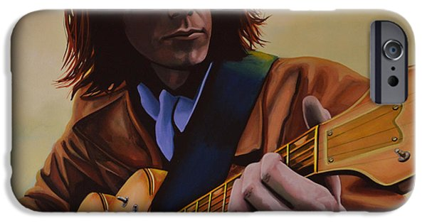 Singer-songwriter iPhone Cases -  Neil Young  iPhone Case by Paul  Meijering