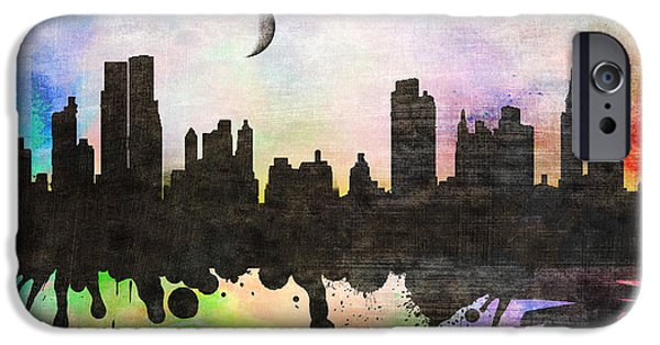 Animation iPhone Cases -  New York 6 iPhone Case by Mark Ashkenazi
