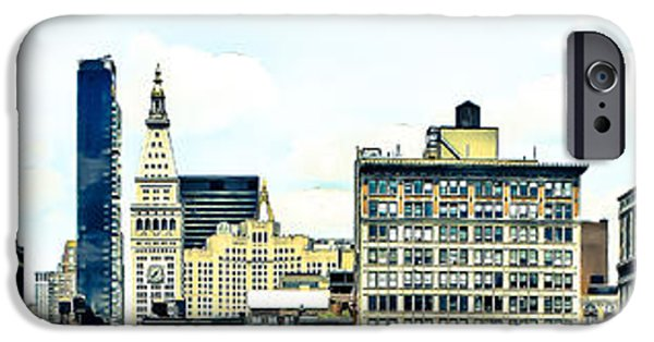 Union Square iPhone Cases -   New York City iPhone Case by Ken Marsh
