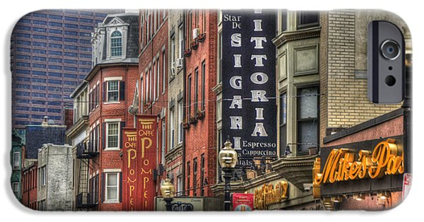 Recently Sold -  - Little iPhone Cases -  North End Charm - Boston iPhone Case by Joann Vitali