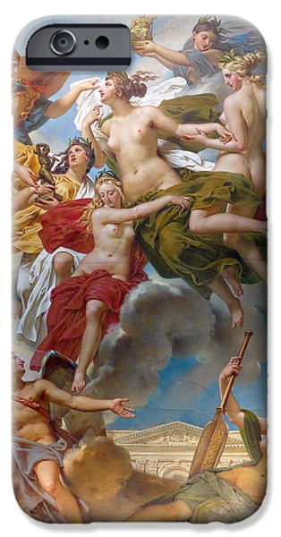 Art By God iPhone Cases -  Nymphs of Parthenope iPhone Case by Charles Meynier