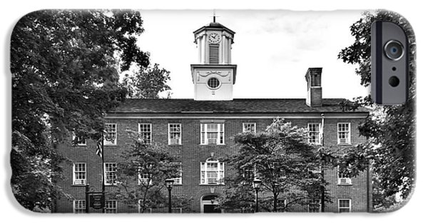 Athens iPhone Cases -  Ohio University Cutler Hall iPhone Case by University Icons