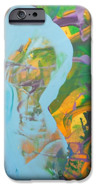 Normal Paintings iPhone Cases -  Pregnant and feeling So Empty iPhone Case by Bruce Combs - REACH BEYOND