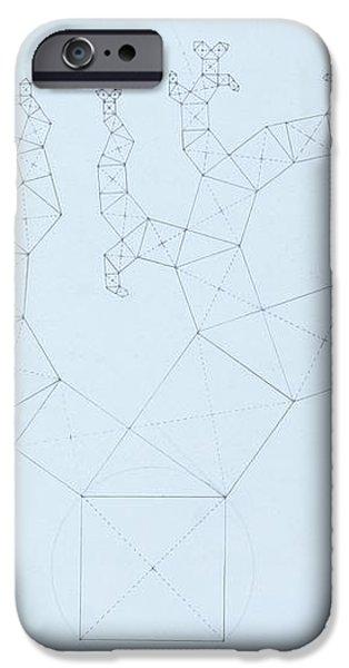 Quantum Tree iPhone Case by Jason Padgett