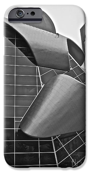 Stainless Steel iPhone Cases -  Ribbon of Steel 2 iPhone Case by Linda Bianic