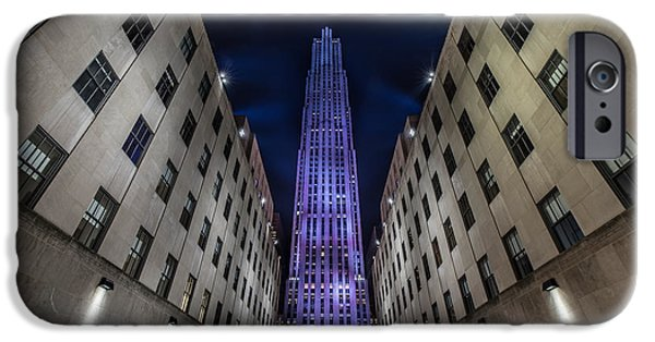 Newyork iPhone Cases -  Rockefeller Center - New York - New York - USA 4 iPhone Case by Larry Marshall