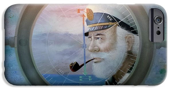 Michelle iPhone Cases -  Sea Captain iPhone Case by Yoo Choong Yeul