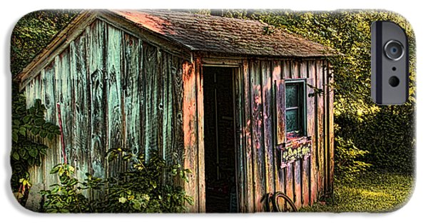 Shed iPhone Cases -  Shed Bristol Rhode Island iPhone Case by Tom Prendergast