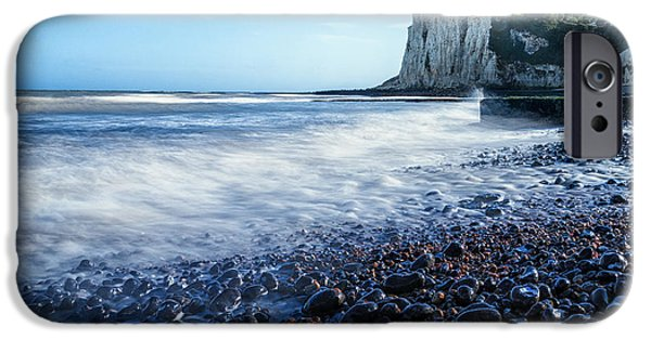 Margaret iPhone Cases -  St Margarets Bay iPhone Case by Ian Hufton