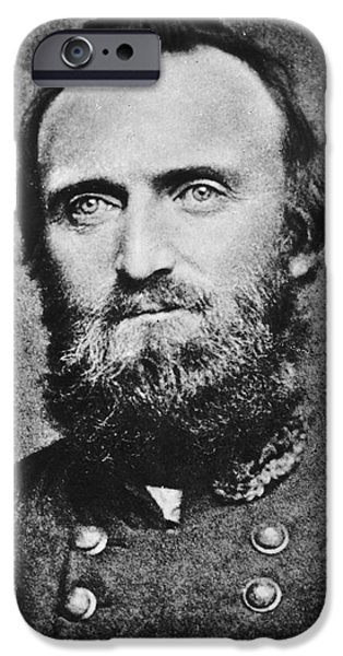 Camera iPhone Cases -  Stonewall Jackson iPhone Case by Anonymous