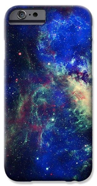 Tarantula Nebula 3 iPhone Case by The  Vault - Jennifer Rondinelli Reilly