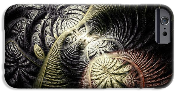 Ancient iPhone Cases -  Trilobite Trail iPhone Case by Anastasiya Malakhova