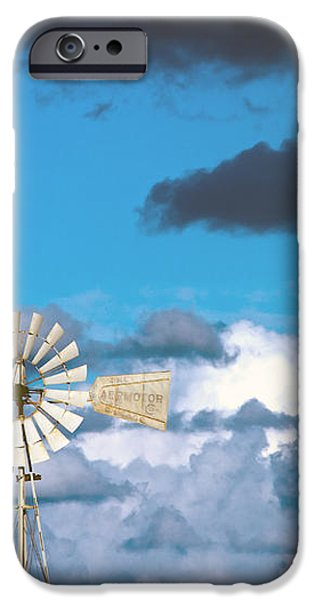 water windmill iPhone Case by Stylianos Kleanthous
