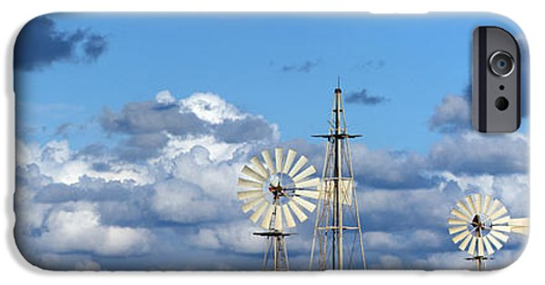 Power iPhone Cases -  Water Windmills iPhone Case by Stylianos Kleanthous