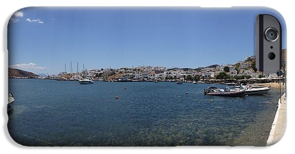 Village iPhone Cases - 0081544 - Serifos - Livadi iPhone Case by Costas Aggelakis