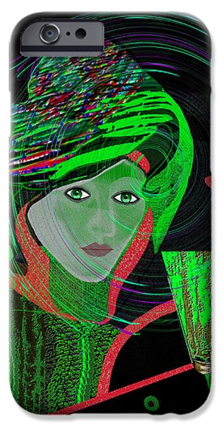 Irmgard iPhone Cases - 010 - No drink anymore iPhone Case by Irmgard Schoendorf Welch