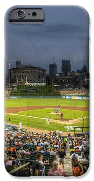 0101 Comerica Park - Detroit Michigan iPhone Case by Steve Sturgill