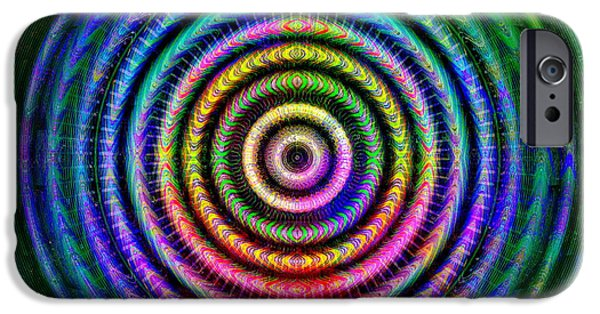 Recently Sold -  - Abstract Digital iPhone Cases - #01152014 iPhone Case by Visual Artist  Frank Bonilla