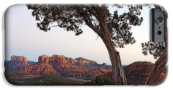 Sedona iPhone Cases - 0244 Sedona Arizona iPhone Case by Steve Sturgill