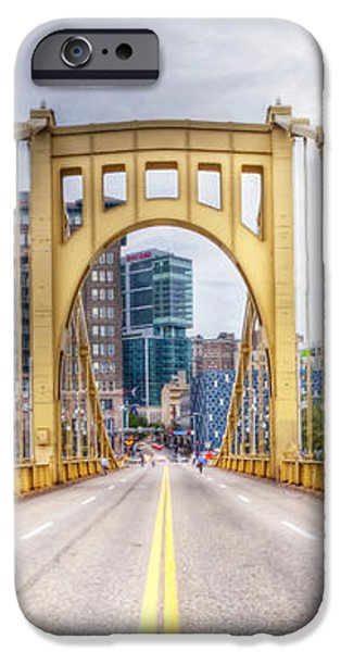 0305  Pittsburgh 10 iPhone Case by Steve Sturgill
