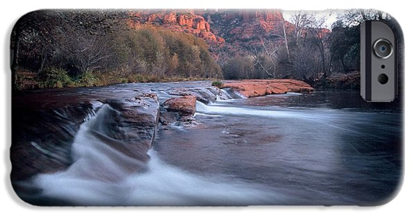 Cathedral Rock iPhone Cases - 0463 Sedona Arizona iPhone Case by Steve Sturgill