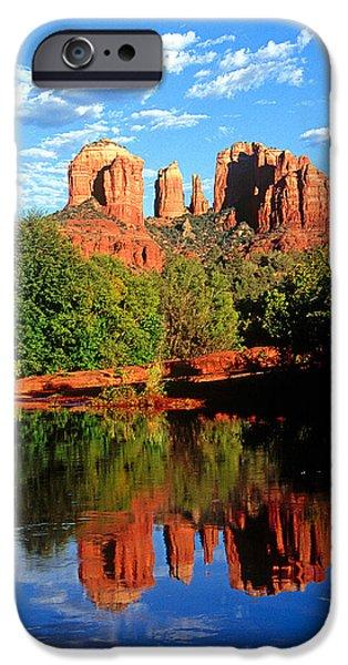 Sedona iPhone Cases - 0464 Sedona Arizona iPhone Case by Steve Sturgill