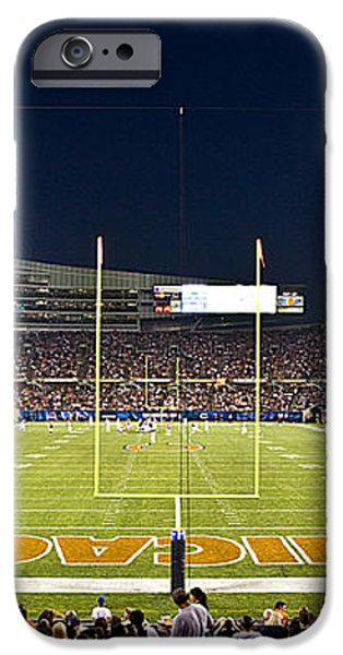 0587 Soldier Field Chicago iPhone Case by Steve Sturgill