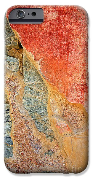 Delos iPhone Cases - 0590 Abstract iPhone Case by Steve Sturgill
