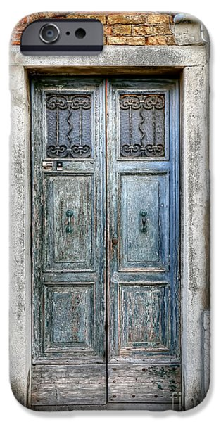 Venetian Doors iPhone Cases - 0778 Murano Italy iPhone Case by Steve Sturgill