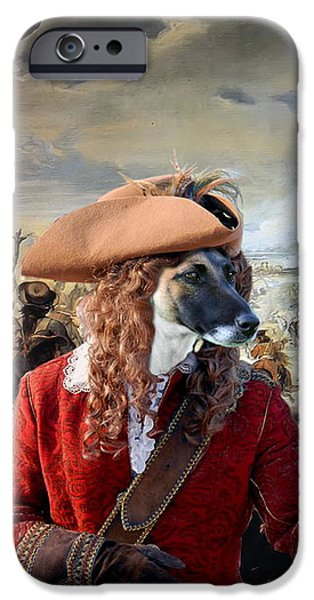 Fox Terrier iPhone Cases -  Fox Terrier - Smooth Fox Terrier Art Canvas Print iPhone Case by Sandra Sij