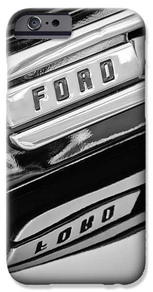 F 1 iPhone Cases - 1948 Ford F-1 Pickup Truck iPhone Case by Jill Reger
