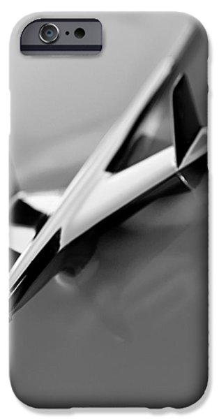 1955 Chevrolet Belair Nomad Hood Ornament iPhone Case by Jill Reger