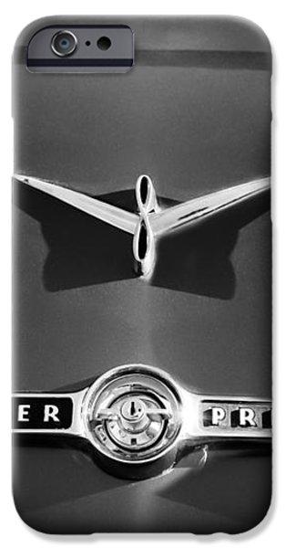 1955 Studebaker President Emblem iPhone Case by Jill Reger