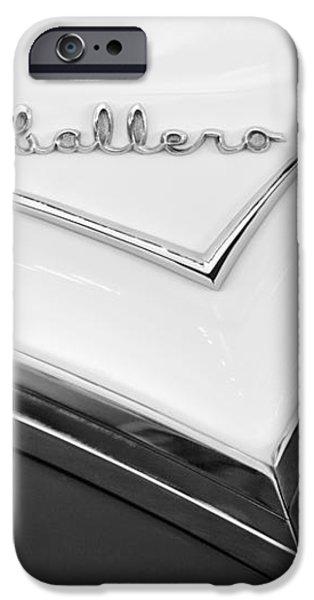 1957 Buick Custom Station Wagon Caballera Emblem iPhone Case by Jill Reger
