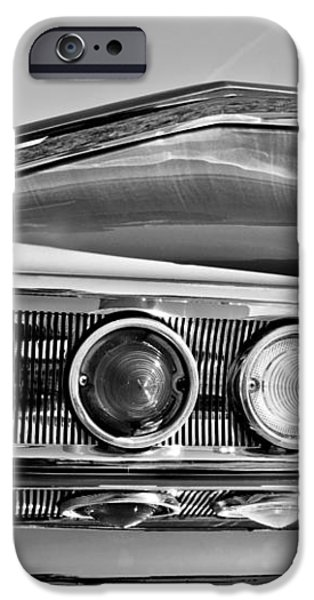 1960 Chevrolet Impala Resto Rod Taillight iPhone Case by Jill Reger