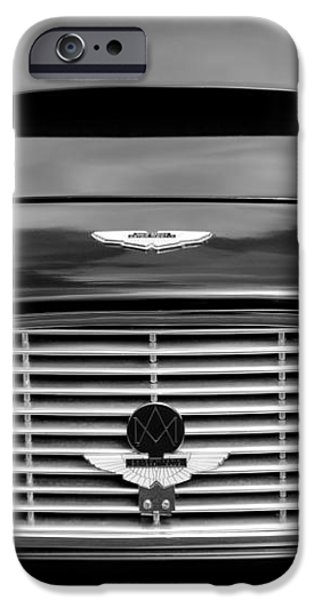 1963 Aston Martin DB4 Series V Vantage GT Grille iPhone Case by Jill Reger