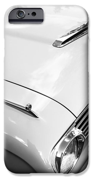 1963 Ford Falcon Futura Convertible Hood iPhone Case by Jill Reger