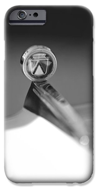 1963 Ford Futura Hood Ornament iPhone Case by Jill Reger