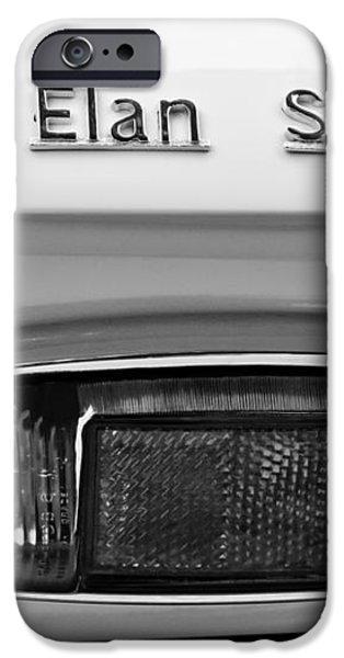 1965 Lotus Elan S2 Taillight Emblem iPhone Case by Jill Reger