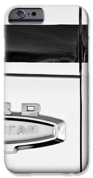 1966 Ford Pickup Truck Emblem iPhone Case by Jill Reger