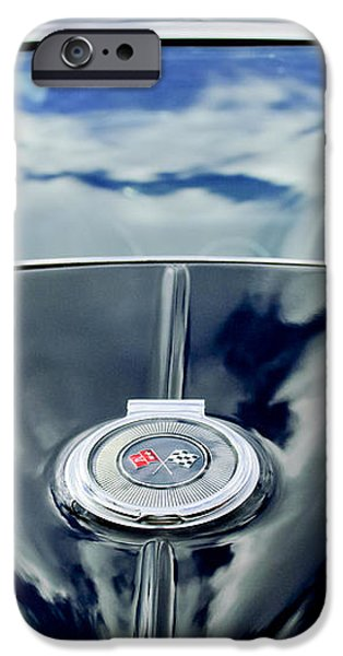 1967 Chevrolet Corvette Rear Emblem iPhone Case by Jill Reger